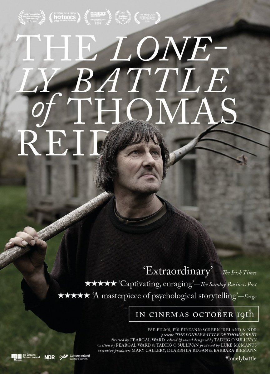 Watched 'The Lonely Battle of Thomas Reid' earlier @QFTBelfast - brilliant show! #GetInvolved #NowWatching