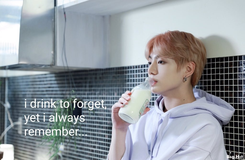 Incorrect Bts Quotes On Twitter Jungkook I Drink To Forget Yet