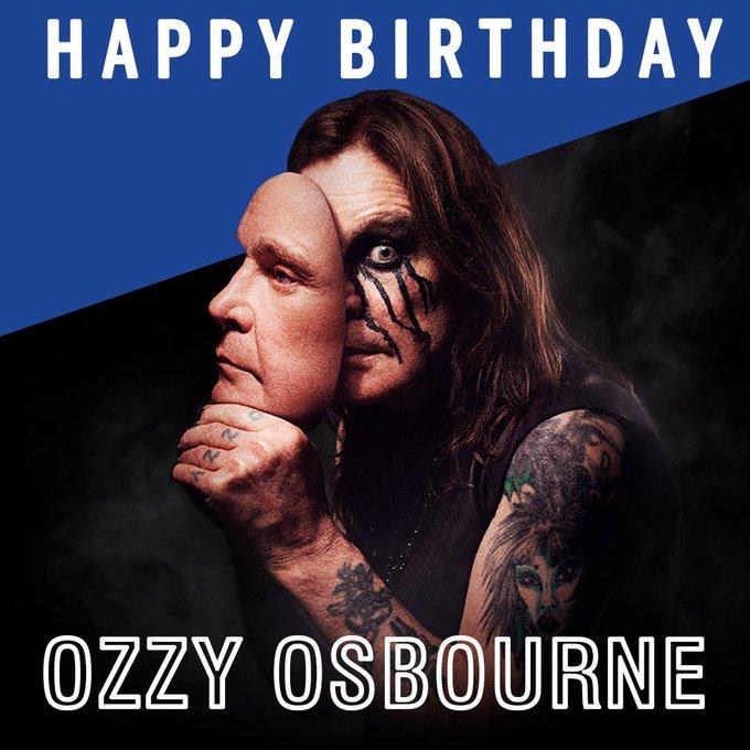 Happy birthday to the Prince of Darkness, Ozzy Osbourne!