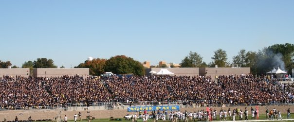 Hey @AggiePack!  #PackTheOven like you did back when Aggie Stadium opened in 2008. @CoachHawkinsUCD @UCDfootball @kevinablue #GoAgs<br>http://pic.twitter.com/PsuAQb5fph