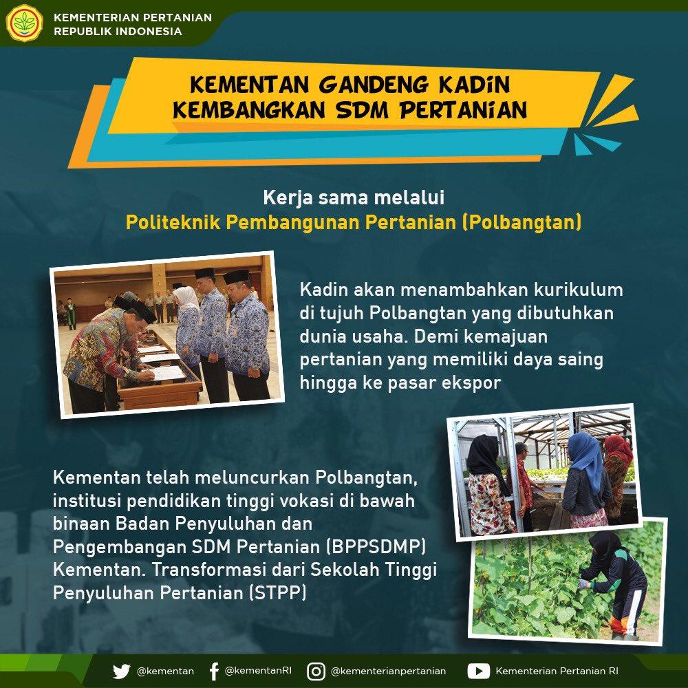 Kementerian Pertanian Ri On Twitter Selamat Pagi Sobatani Sdm