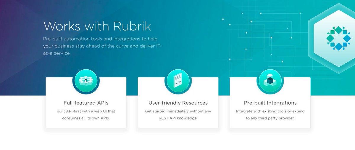 Rubrik, Inc  on Twitter: