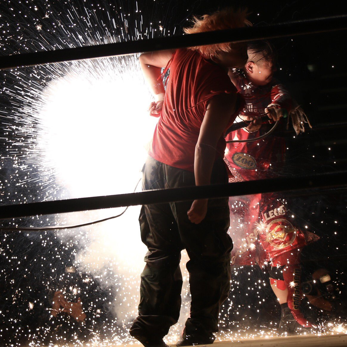 "Zero1: ""Pro-Wrestling Festival in Saga"" Great Sasuke y Nagayo desatan violencia 4"