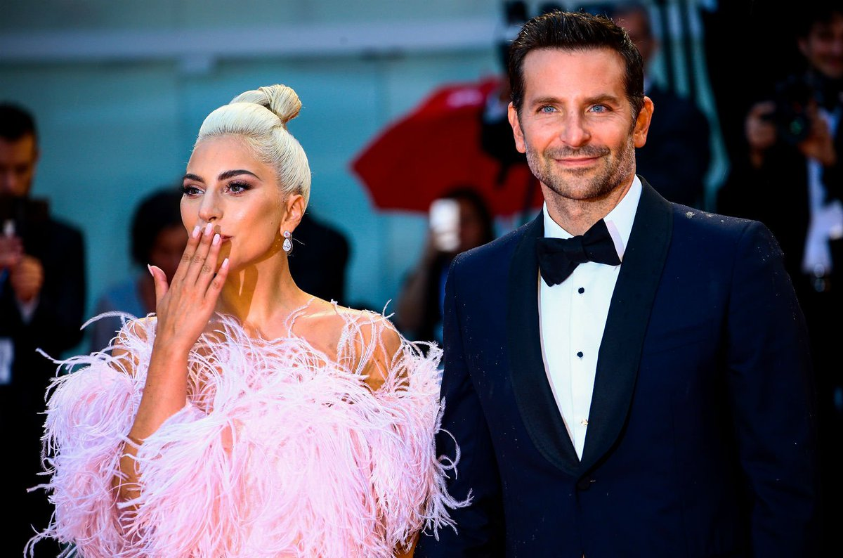 Lady Gaga gets emotional while presenting Bradley Cooper at American Cinematheque Gala blbrd.cm/hvzUZ7