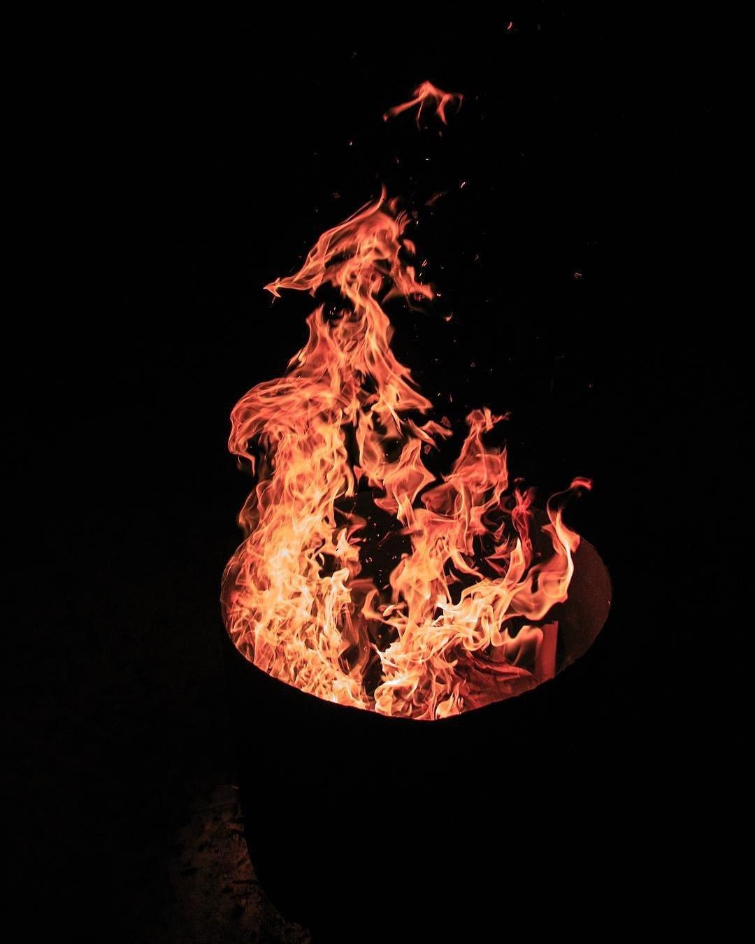 Как правильно фотографировать огонь сокращают