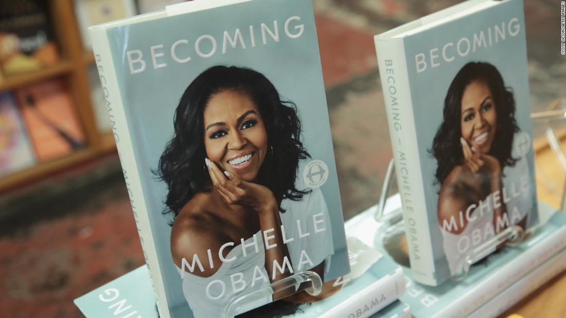 Michelle Obamas memoir Becoming has become the best selling book of the year in the United States cnn.it/2EaG8Xw