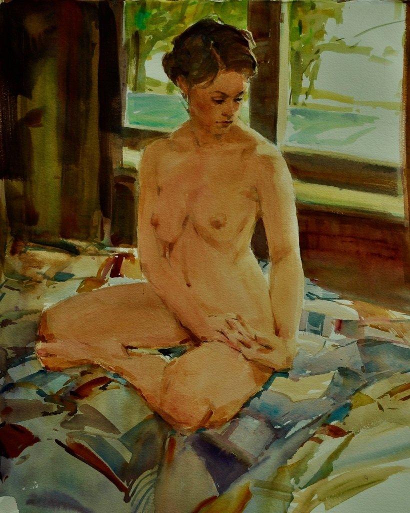 Голых голые у художника больших бедер онлайн