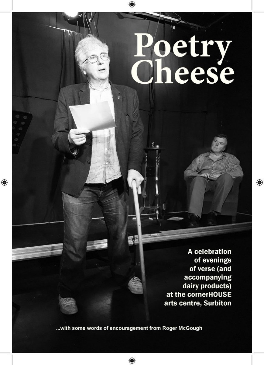 Just in time for Christmas, the first anthology of verse written by regular contributors to the cornerHOUSE's poetry-and-cheese evenings. Poetry Cheese features more than 50 poems by 22 poets from the Surbiton area.  Find out more at https://t.co/E6PxSKMY9P