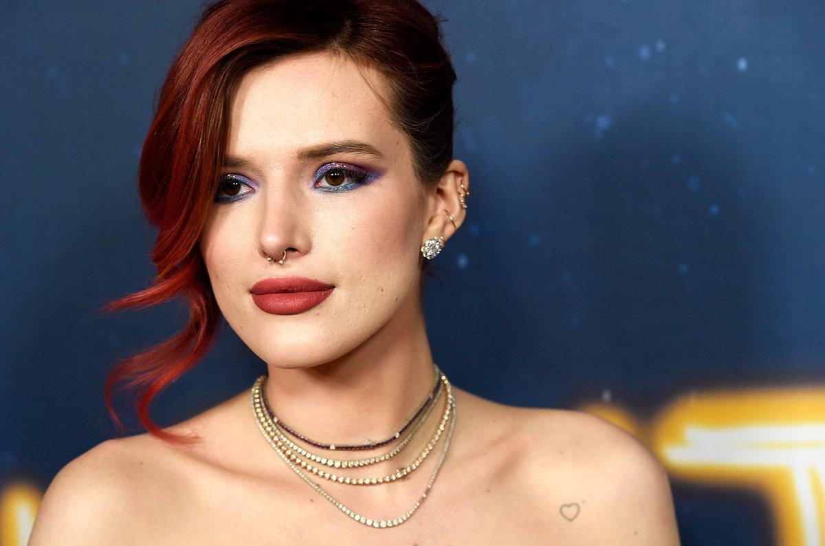 Bella Thorne shared a risqué video promoting her new cosmetics line blbrd.cm/ptKyXr