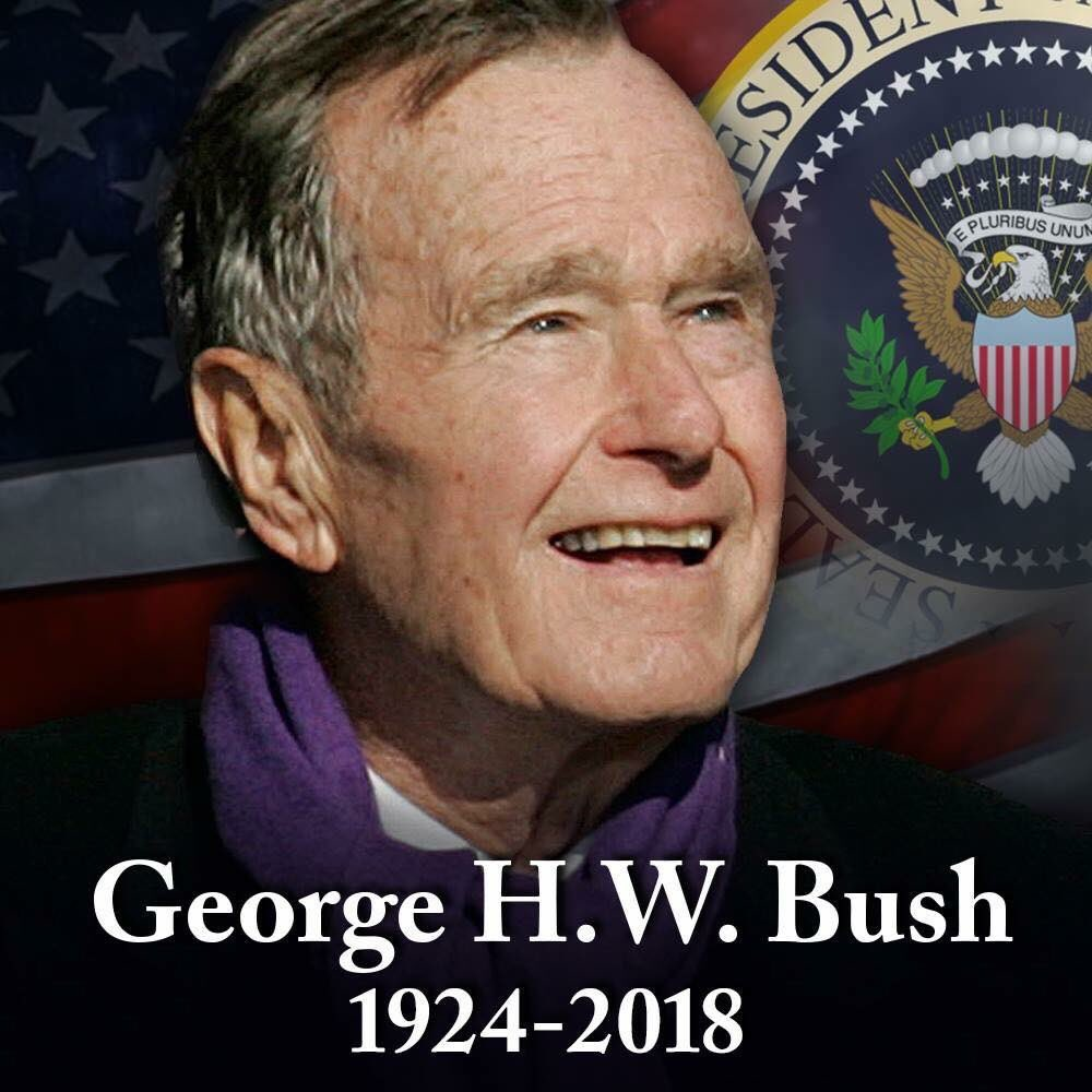 We'll miss seeing him behind home plate. Rest in peace, Mr. President.