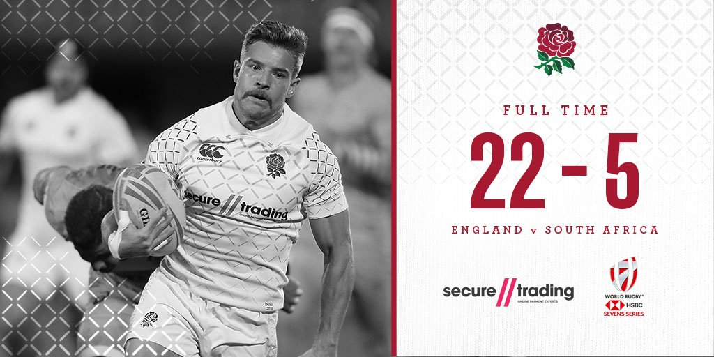 England are through to the semi finals of the #Dubai7s after beating South Africa 🌹