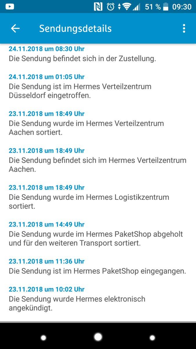 Hermes Sendung Beschädigt