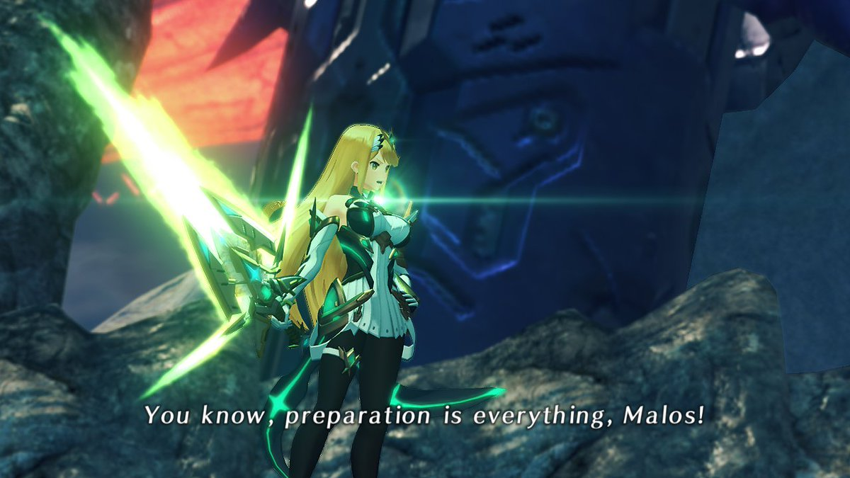 Nintendo Of Europe On Twitter The Massive Melee Mythra Outfit