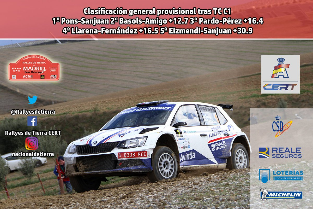 CERT: 1º Rallye de Tierra de Madrid [30 Noviembre - 1 Diciembre] - Página 2 DtUdmQoXoAAc8Re