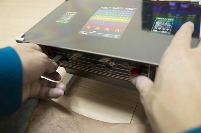 タイトーさんは『スペースインベーダー』シリーズが遊べる小型テーブル筐体型のゲーム機は出さないんですか? #si40