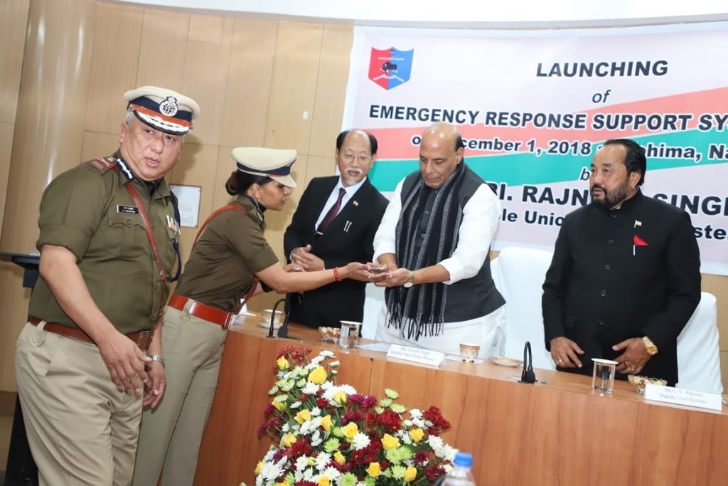 Rajnath launches pan-India women safety emergency No 112 and App