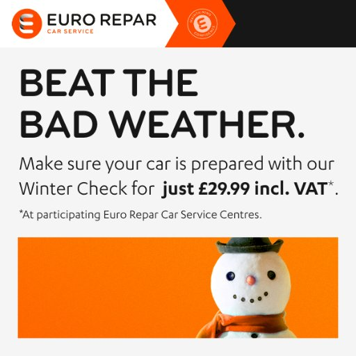 Euro Repar Car Service Uk On Twitter Cold Weather And Cars Don T