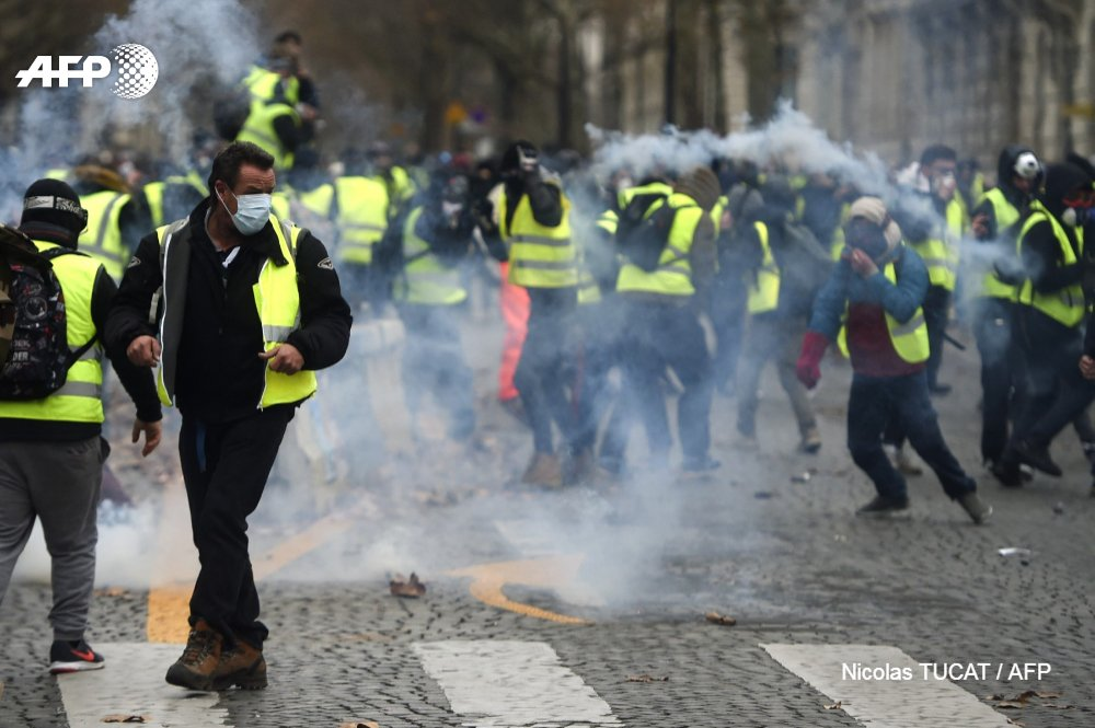 bbc france fuel unrest - 850×565
