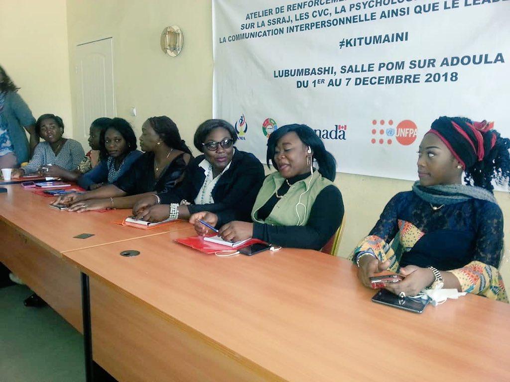 Les jeunes femmes #mentors formées serviront #modèle d'inspiration aux adolescentes #RDC dans l'initiative #kitumaini @SennenHounton @NicolasJSimard @ADiallo2018 @JulittaOnabanjo @ILokushe @annytenga @habariRDC @ffcrdc @prisca_manyala @SoleneTshilobo3 @castromusafiri1 @habariRDC