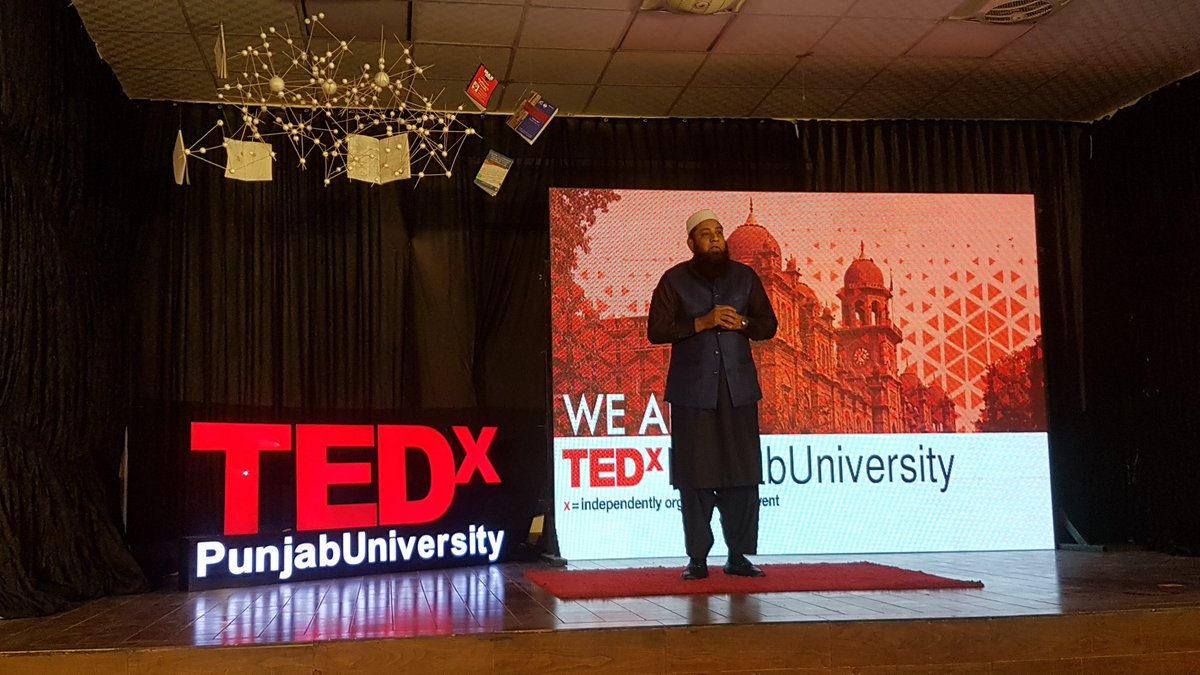 One of the greatest of all time - the cricket great - Inzamam ul Haq. #TedTalk