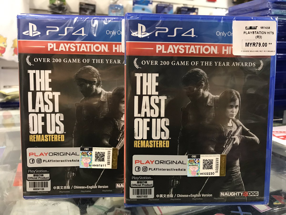 2 more PS4 titles added in Playstation Hits series @ RM79 - Uncharted Drake Collection & Until Dawn! PS4 The Last of Us & Uncharted 4 restock @ RM79 as ...