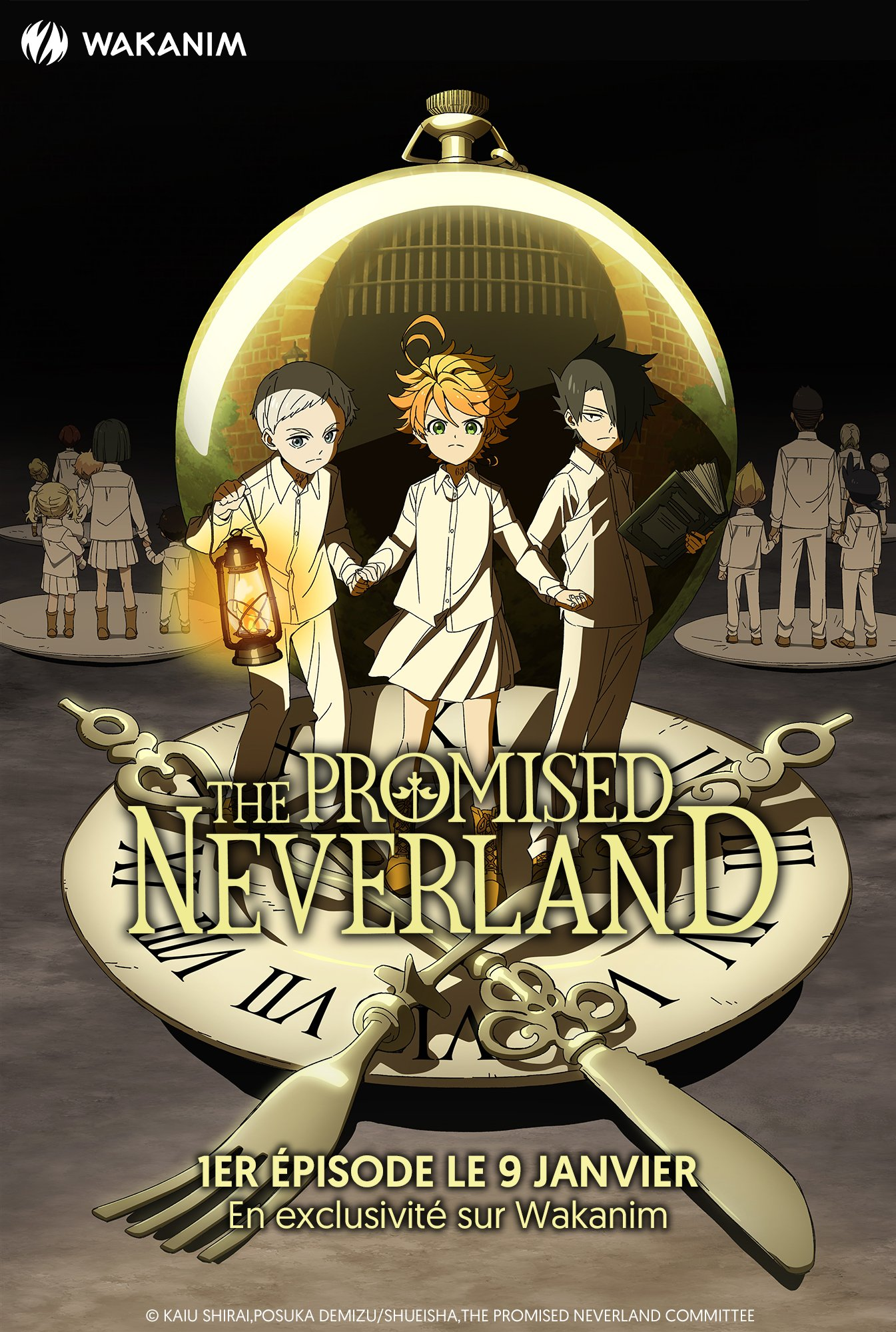 Anime The Promised Neverland VOSTFR