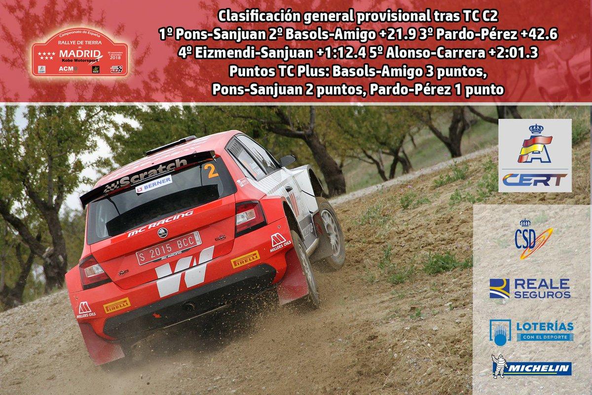 CERT: 1º Rallye de Tierra de Madrid [30 Noviembre - 1 Diciembre] - Página 3 DtVOENHWsAE4A1D
