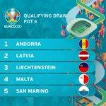 UEFA #EURO2020 qualifying pots  ✅ℹ️ 4-6