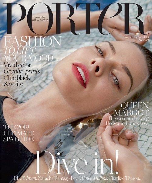 Margot Robbie for Porter