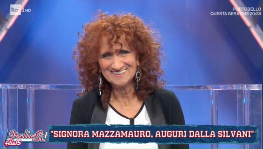"""""""Ma che c'è da festeggia' """"?  Buon compleanno alla grande #AnnaMazzamauro ❤️  #ItaliaSi"""