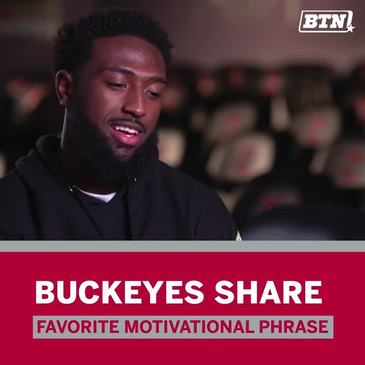 You might be surprised at the variety of favorite phrases among @OhioStateFB. #B1GFCG.