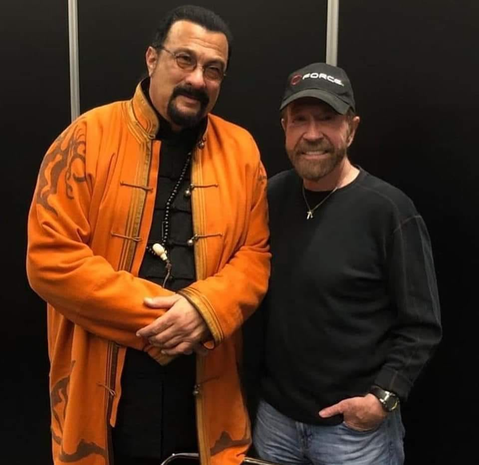 "Steven Seagal on Twitter: ""Dear Friends Enjoying my time ..."