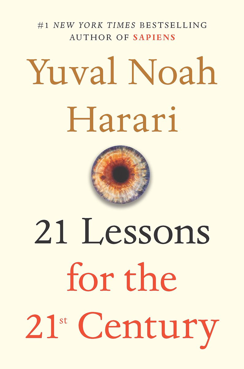 Thanks to a recommendation from @JolaBurnett, I am now reading (well, listening to) this amazing book by @YuvalNoahHarari.  Has anyone else amongst us read it? cc and tagged  @sarbjeetjohal @KirkDBorne @NevilleGaunt @BevEve @DrUmeshPrabhu @evankirstel @DrJDrooghaag @TopCyberNews