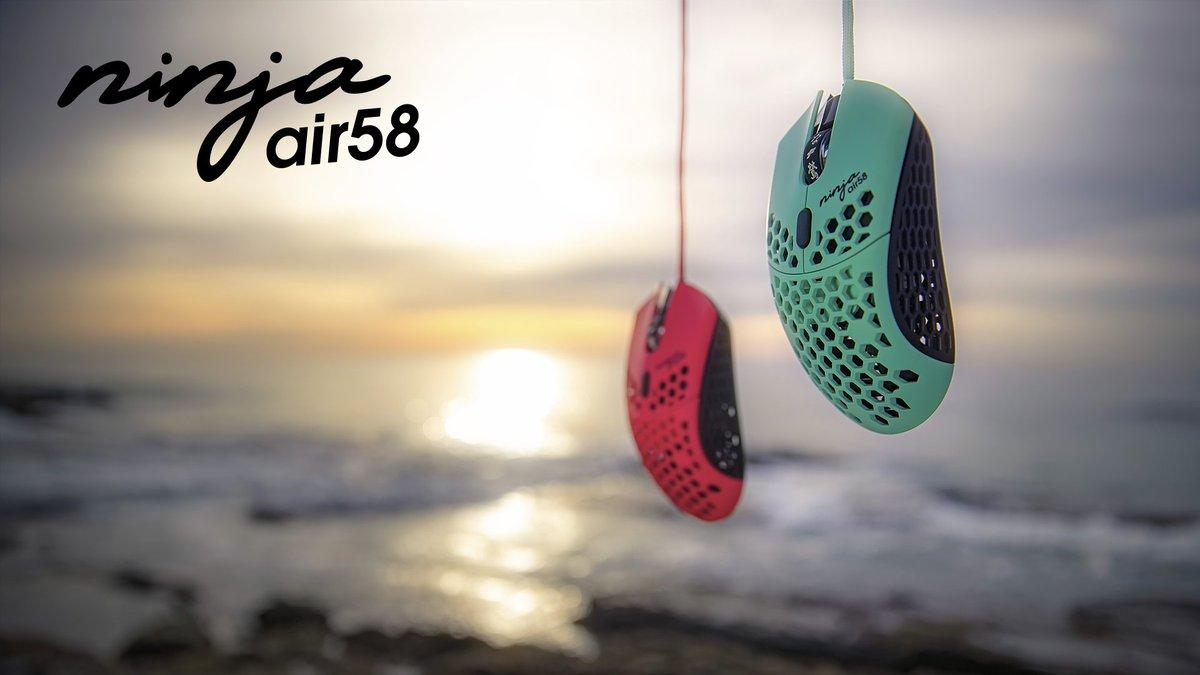 Finalmouse On Twitter Air58 Ninja With Handmade Haiku Scrolls Air