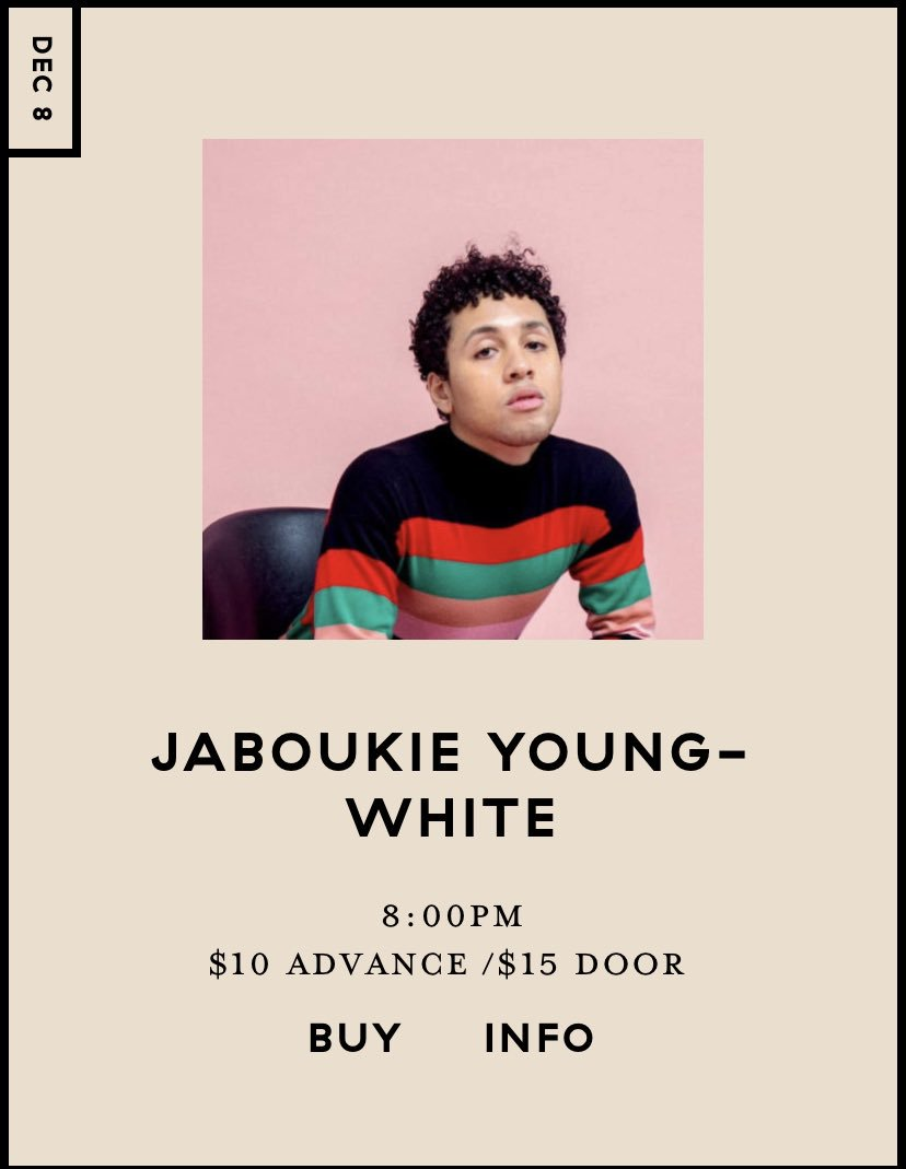 CHICAGO im performing at sleeping village december 8th universe.com/events/jabouki…