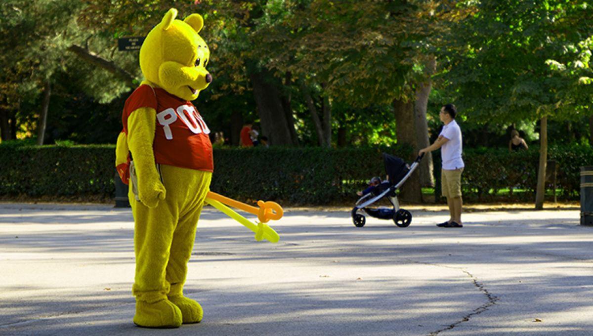 Un homme déguisé en Winnie l'Ourson prié de quitter une place madrilène pour ne pas offenser Xi Jinping https://t.co/VKVfsMOSKV