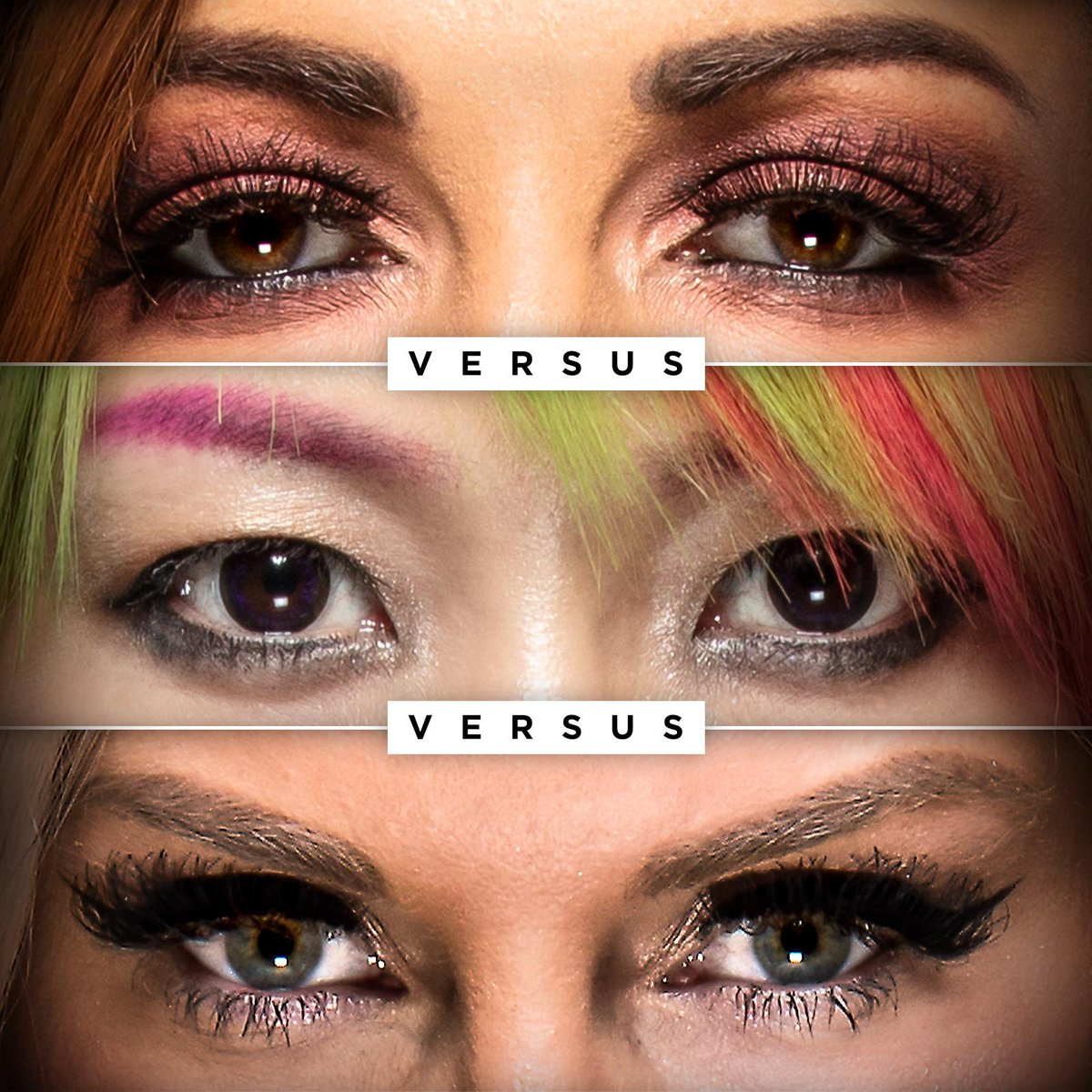 Full focus.  Full history-makers. #WWETLC #TLCMatch  @BeckyLynchWWE @MsCharlotteWWE @WWEAsuka