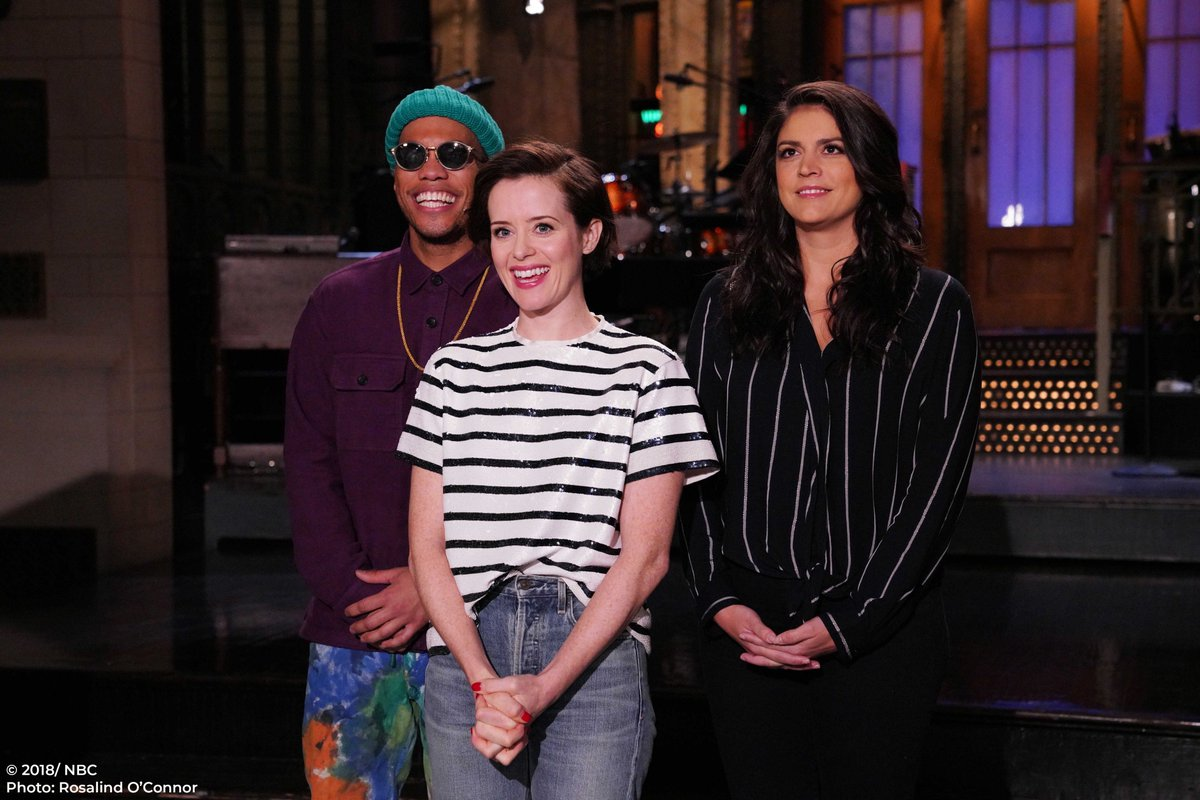 Saturday Night Live Snl On Twitter This Is Your Reminder To Watch Snl Tonight With Claire Foy And Musical Guest Andersonpaak