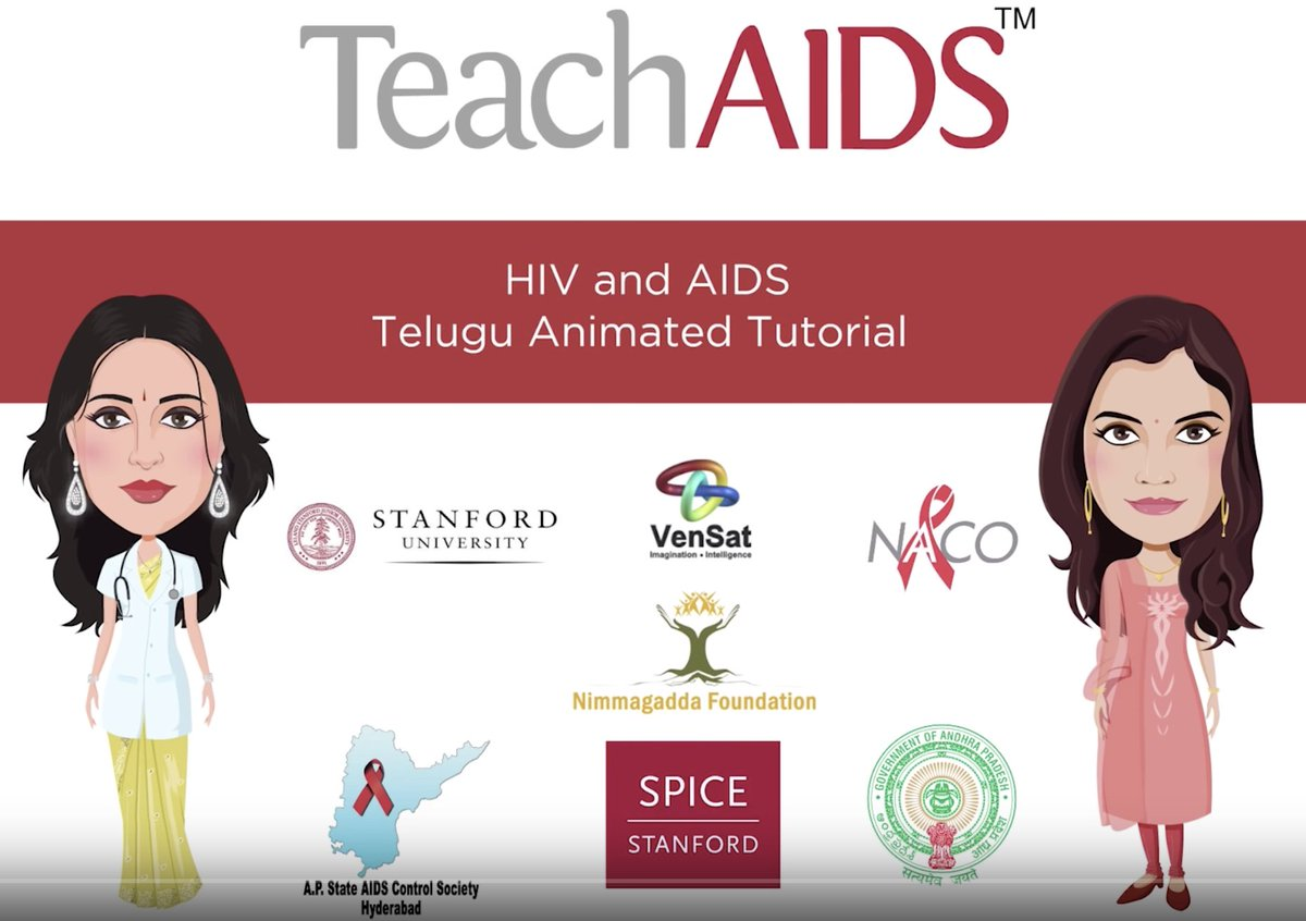 Its #WorldAIDSDay! Share TeachAids #Telugu #HIV animation starring @Anushka_ASF & #SwathiReddy youtu.be/KSre3xrDJJQ @TelanganaSACS #WAD2018 #WorldAIDSDay2018