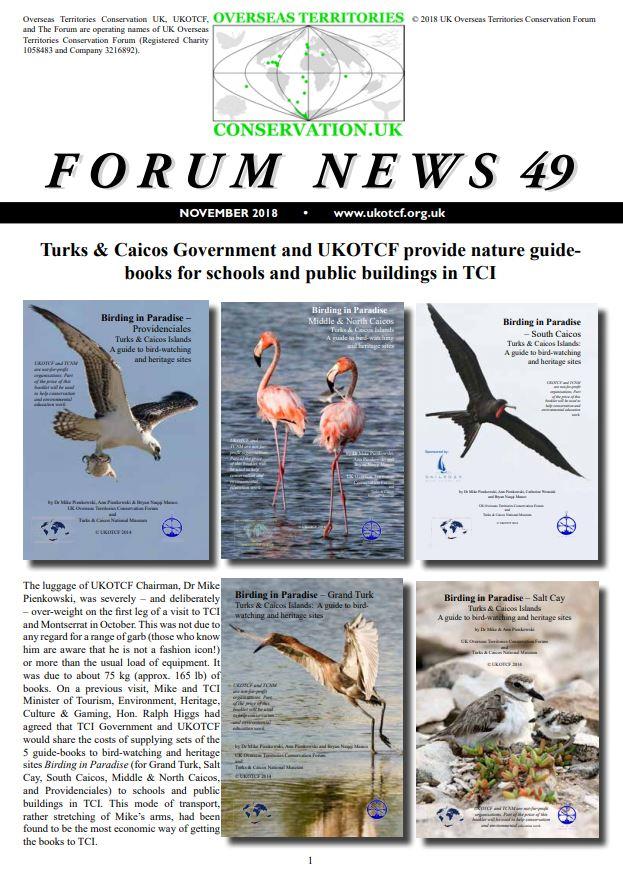 UK Overseas Territories Conservation Forum on Twitter