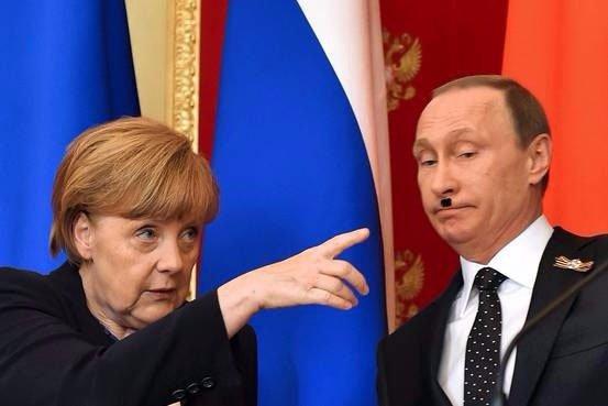 Меркель і Путін обговорили ситуацію в Керченській протоці - Цензор.НЕТ 649
