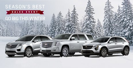 Metroplex Cadillac On Twitter Go Big This Winter With A Brand New