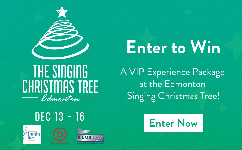 Singing Christmas Tree Edmonton.Edmonton Journal On Twitter There Is Nothing Better To