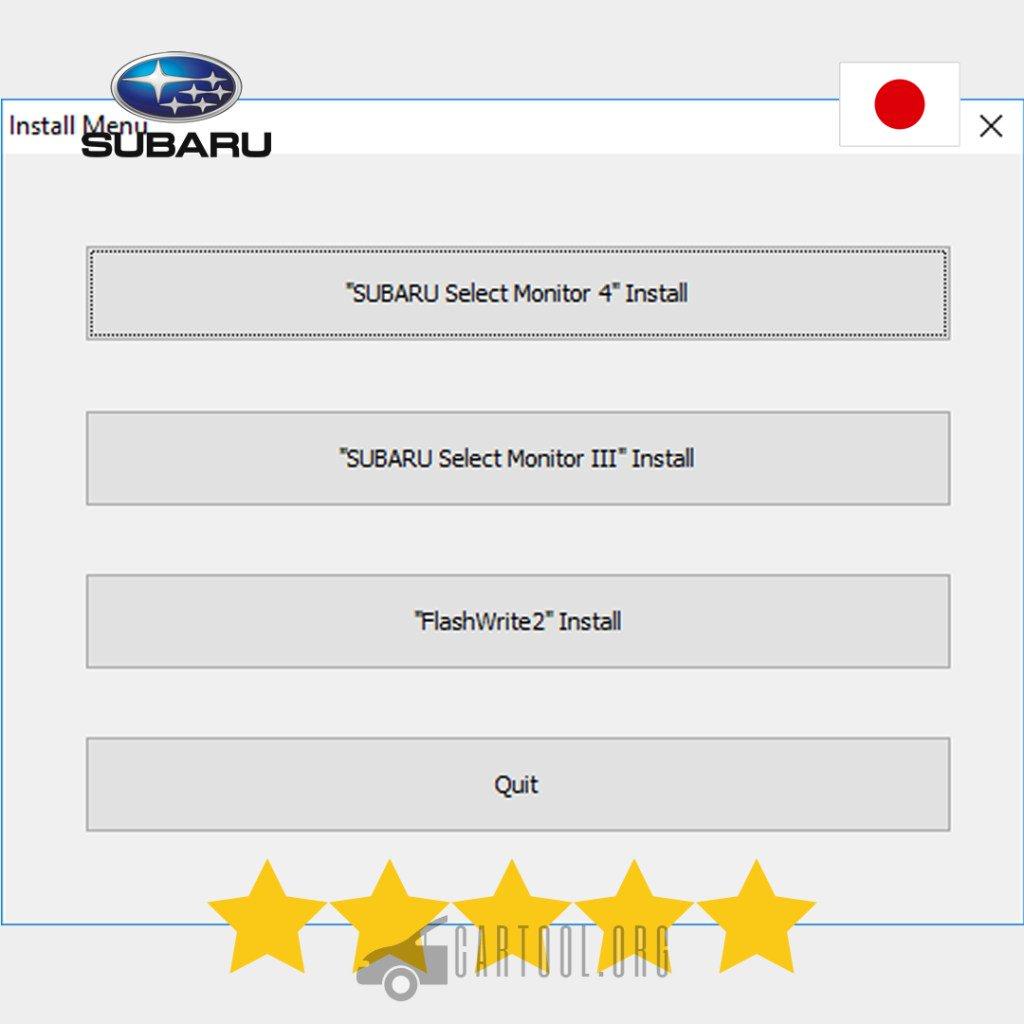 download subaru select monitor