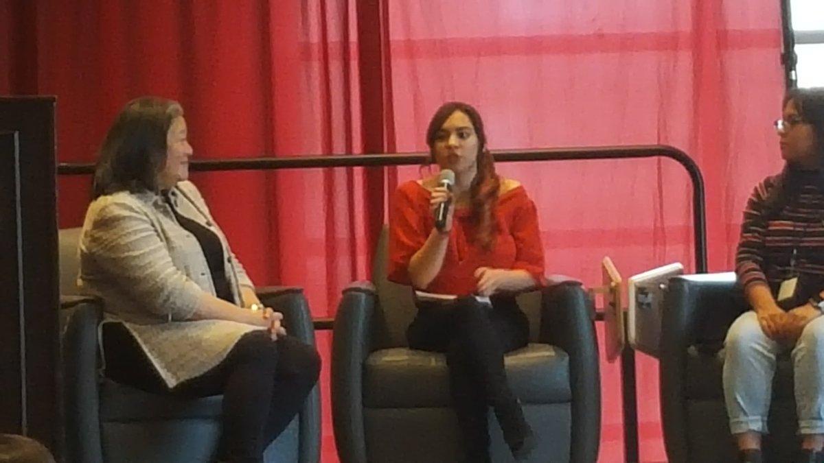 Janelle Astorga @LearningAllianceofNM tells how she got involved in activism through @SWOP Youth Employment Summer Program #GalvanizeNM @USOWomen