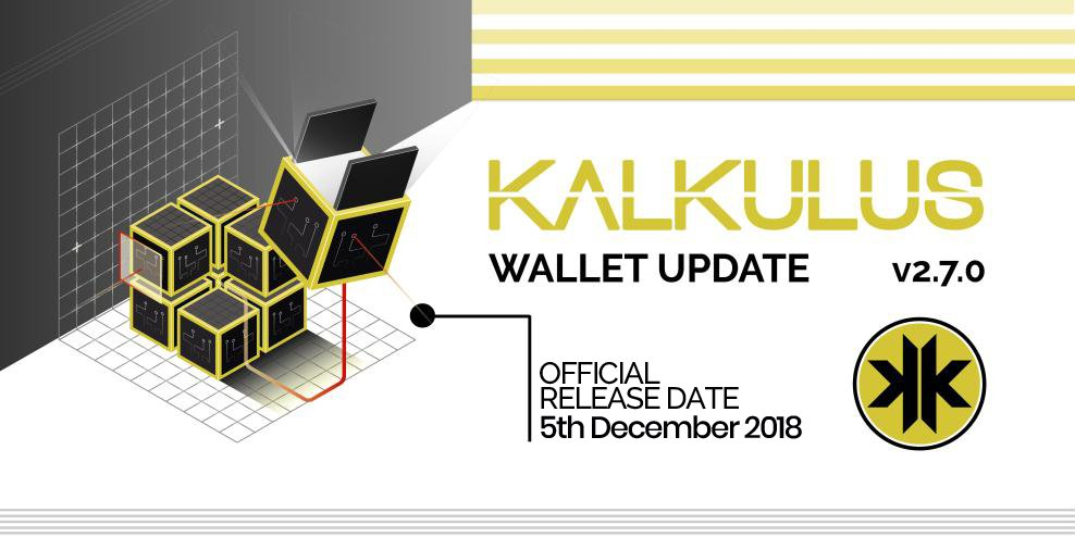 Kalkulus (KLKS) - Wallet v.2.7.0 - Cryptocurrency Calendar on