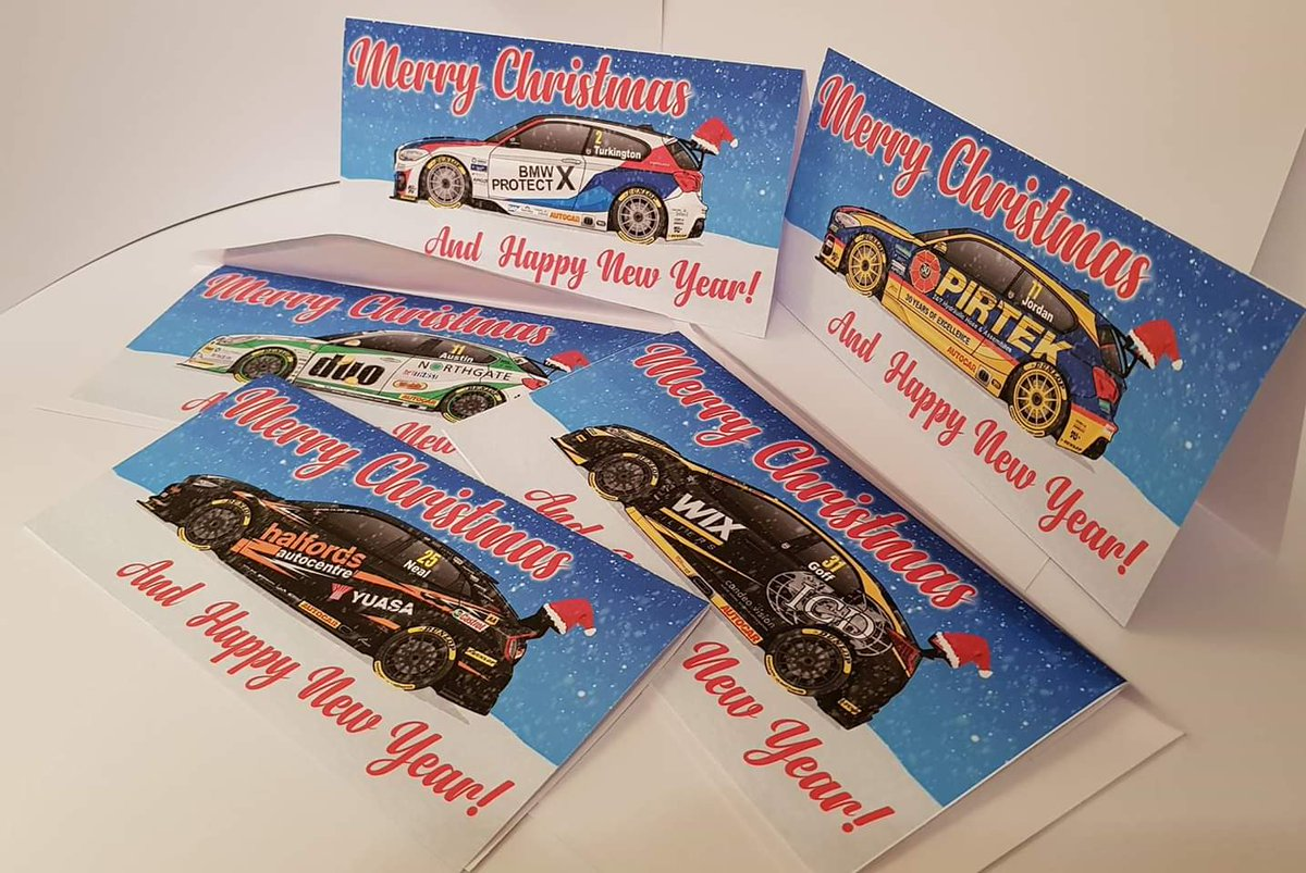 Our Btcc Blueprints Christmas Cards Are Back D This Time