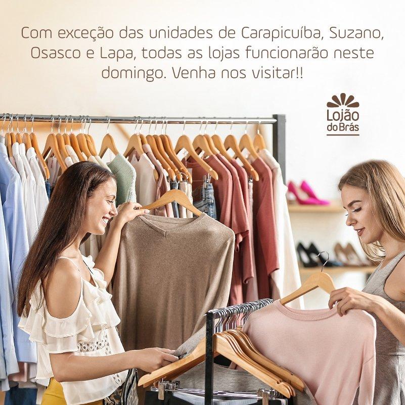 82818b330 Aguardamos a sua visita com muitas novidades e ofertas!  domingão   diadecompras  moda  família  lojãodobráspic.twitter.com 3XtDNIFTsV
