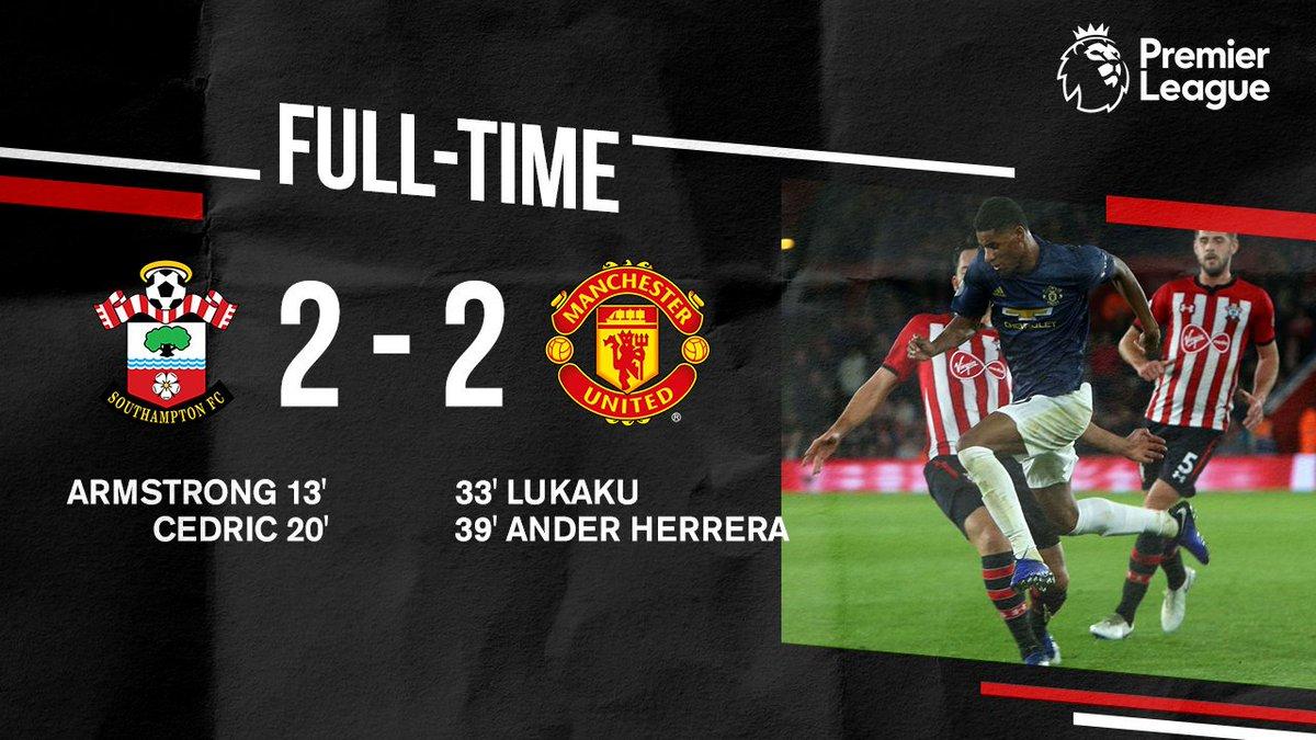 Xem lại Southampton vs Manchester United, 2/12/2018 (Ngoại hạng Anh)