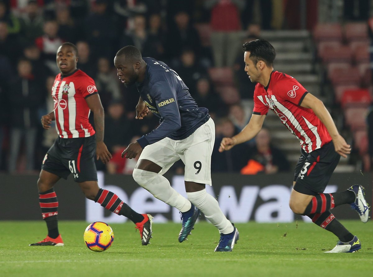 'Only Romelu Lukaku Could Get Injured By His First Touch' – Fans Lash At The Belgian For Picking Up An Injury Following A Heavy Touch